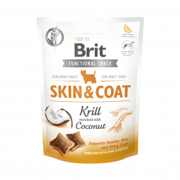 Brit Skin & Coat Snack per...
