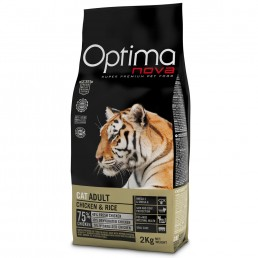 Optima Nova Cat Adult con Pollo e Riso