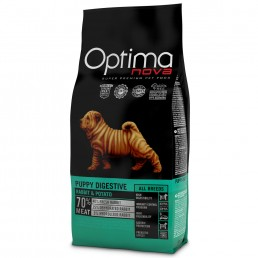 Optima Nova Puppy Digestive con Coniglio e Patate