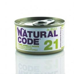 Natural Code Adult Cat Lattina in Jelly - 12 lattine da 85 gr