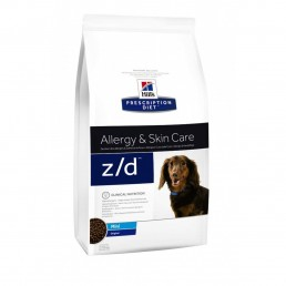 Hills Diet Z/D LOW ALLERGEN cane secco