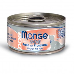 Monge Natural Superpremium Umido per Cani - 6 lattine da 95 gr