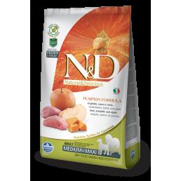 Farmina N&D Pumpkin Grain-Free Adult Medium-Maxi Cinghiale e Mela per Cani