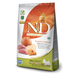 Farmina N&D Pumpkin Grain-Free Adult Mini Cinghiale e Mela per Cani