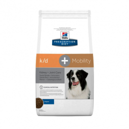 Hills Prescription Diet K/D + Mobility per Cani