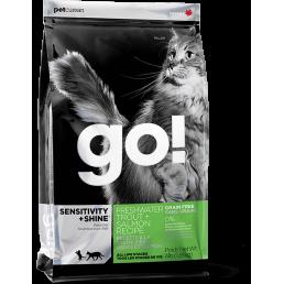 PetCurean GO! Sensitive + Shine Trota e Salmone GRAIN FREE per Gatti