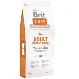 Brit Care Adult Medium Breed Agnello e Riso per Cani