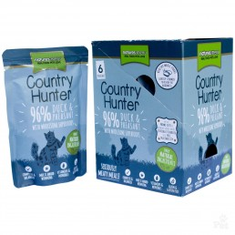 Natures Menu Country Hunter Anatra e Fagiano Cibo Umido per Gatti