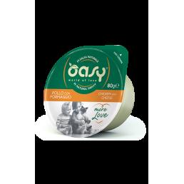 Oasy More Love Green Cup per Gatti