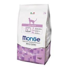 Monge Sterilized con Pollo per Gatti