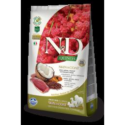 Farmina N&D Skin Coat con Anatra e Quinoa per Cani