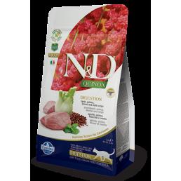 Farmina N&D Digestion Adult Agnello e Quinoa per Gatti