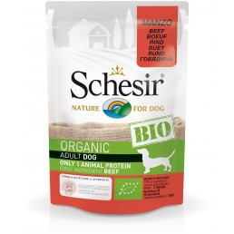 Schesir Dog BIO Organic con Manzo Cibo Umido per Cani