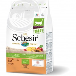 Schesir Cat BIO Organic Sterilized Cat per Gatti Adulti