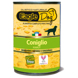 EagleDog Coniglio e Kamut Cibo Umido per Cani