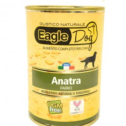 EagleDog Anatra e Farro Cibo Umido per Cani